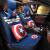 CHEYISHANGアニメの自動車クッションのファッション的な個性亜麻全カバー四季通用自動車クッションアメリカのリーダーであるブルーのシボレー科ウォーズマリスの宝科魯茲創酷風愛唯欧