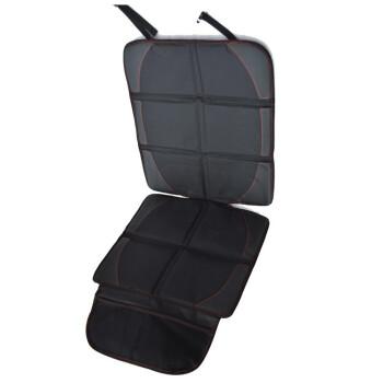 Casland s車の子供用安全シートの保護パッドisoffix通用briitax厚い自動車用シートの滑り止めマットの保護パッドの厚い版【ブラック】