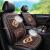 自動車クッションクッション夏の木ビーズ冷マットアイスパッド車は四季通用の通気性とスムース滑り止めシートカバー2020新型自動車シートカバーのシングルシートの木ビーズモデルは腰がベージュ色に近いです。